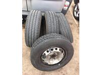 "Vivaro 16"" wheels and tyres"