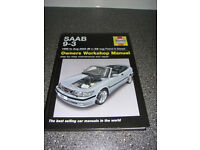 Saab 9-3 Haynes Workshop Manual. 1998 to Aug 2002 (R to 02 reg) Petrol & Diesel