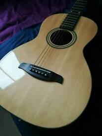 Brunswick Parlour electro acoustic guitar