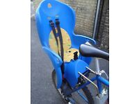 Childs bicycle seat - suitable from 18 months onwards.
