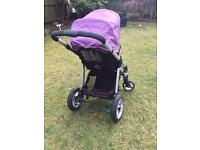 I candy apple pram travel system