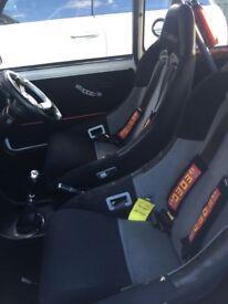 x2 COBRA Bucket Seats, Mounts & Sabelt Harnesses