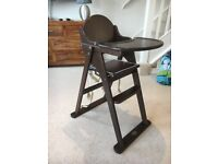 Stylish Baby Weavers wooden high chair