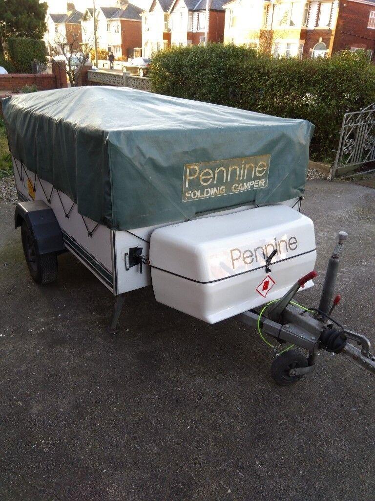 Pennine Aztec folding camper   in Blackpool, Lancashire ...