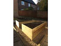 Vegetable garden or raised planters