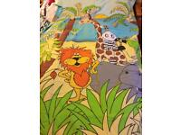 Debenhams jungle single duvet cover set