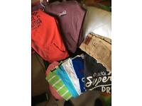 Superdry & Hollister men's clothes size Medium - USED