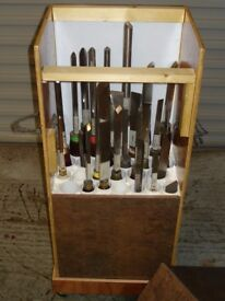 WOOD CHISELS, GOUGES AND PARTING TOOLS FOR WOODTURNING / WOODWORK