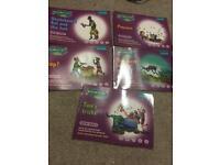 Read and Write Inc set 2A of 5 purple books.