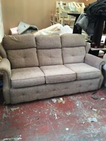 Absolute bargain! 3 seater sofa