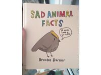 Animal Sad Facts comedy book