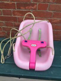 Pink Little Tikes Swing