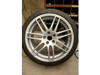 """Audi a4 b7 18"""" alloy wheels"""