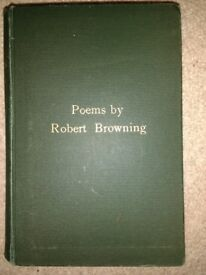 Poems by Robert Browning Hardback 1897