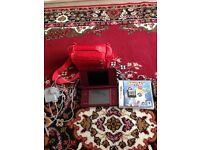 AS NEW DS XL. WITH TWO GAMES