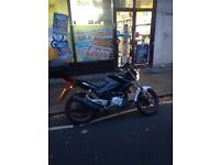 lexmoto 125 mot'd £500 gd reliable bike needs 3rd but doesnt effect ridein used daily