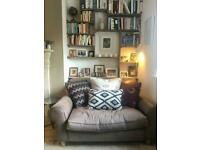 Stylish Vintage Conran leather sofa / loveseat