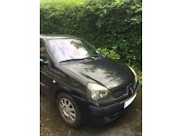 Renault Clio for sale SPARES AND REPAIRS Black