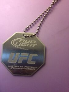 UFC Pendant with Chain