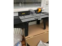 Wolfcraft router table. NO Fixings. Table only
