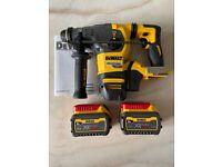 Dewalt DCH333N SDS+ Hammer XR Flexvolt 54V, 2 x 6Ah Batteries