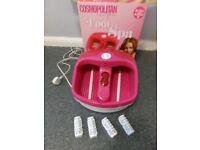 Cosmopolitan foot spa - still in the box