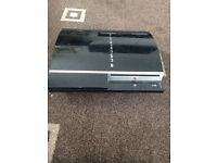 PlayStation 3 with 4 games