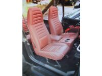 WANTED Garnet Red Seat fabric off Renegade CJ7 JEEP 1984 - 1987 for repairs to mine