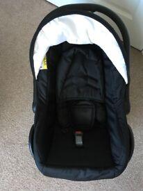 Car seat/carrycot