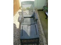 Heavy duty Garden lounger