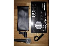 New SM 58 Shure Microphone