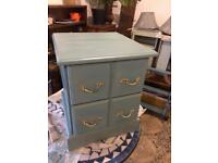 Cute, delightful small cabinet with drawers