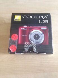 Nikon Coolpix A10 Camera - Red