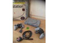 Sony Playstation 1 SCPH-5502 Grey Console. Great condition