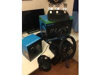X-box / PC Logitech G920 driving force race wheel and shifter £180