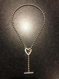 Gucci Heart Toggle Necklace Genuine RRP £175