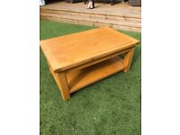 Wooden Coffee Table - Good Quality and Condition Size - L 110cm D 70cm H 50cm Free Local Delivery