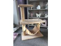 Cats scratch post / cat toy
