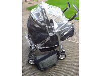 *Excellant Condition* Silver Cross Travel System with Car Seat and Pram/ Pushchair and Accessories