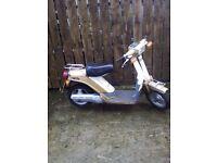 Yamaha passola moped