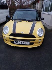 MINI COOPER FOR SALE - PRICE REDUCED TO £2250