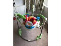 Jumperoo Rain Forest - Good condition