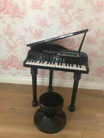 Children toy grand piano