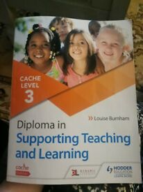 CACHE LEVEL 3 DIPLOMA IN SUPPORTING TEACHING AND LEARNING IN SCHOOLS