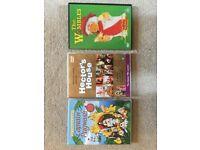 Captain Pugwash, Wombles & Hectors House 1970s Collections 3 DVDs. Great condition