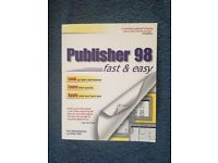 Microsoft Publisher 98 Fast & Easy Book