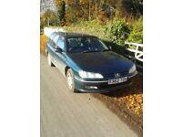 Peugeot 406 2.1 Diesel Estate Mot 25/04/18 Tatty and Cheap Mobile Garden Skip