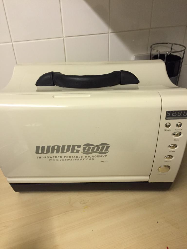 Wave box portable microwave