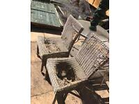 Old chairs - free to collect
