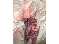 Newborn and 0-3 baby girls bundle